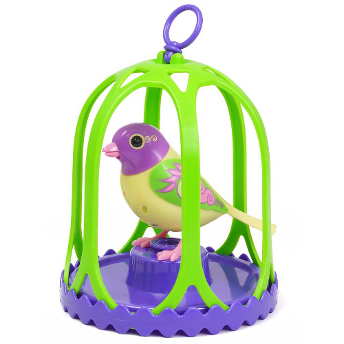Set Colivie si Pasare Interactiva DigiBirds Breeze