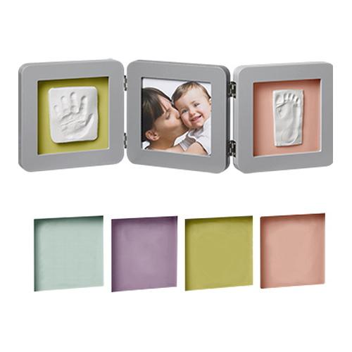 Double Print Frame Grey Babyroom