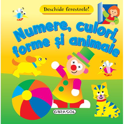 Deschide Ferestrele Numerele, Culorile, Formele si Animalele