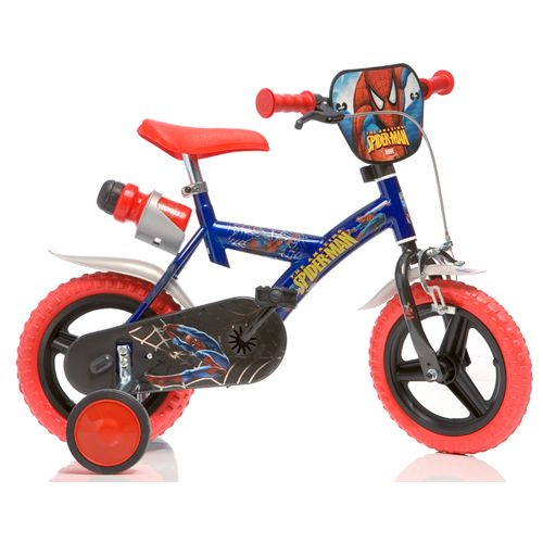 Bicicleta Spiderman 123 GL