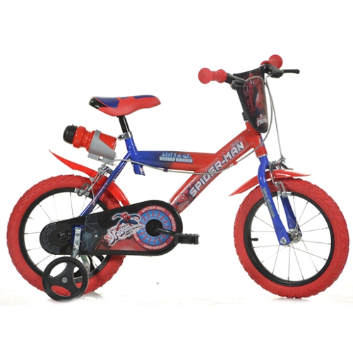 Bicicleta 143G Seria Spiderman