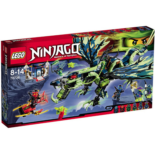 Ninjago - Atacul Dragonului Morro