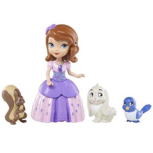 Figurine Disney Sofia si Prietenii Animale