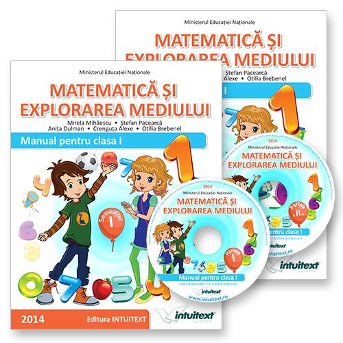 Manualul de Matematica si Explorarea Mediului Clasa I Semestrul I si II