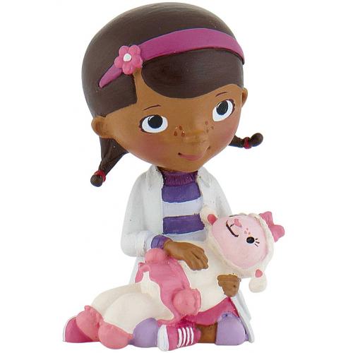 Figurina Doc McStuffins cu Lambie