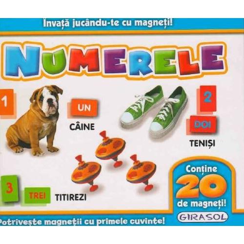 Invata Jucandu-te cu Magneti Numerele