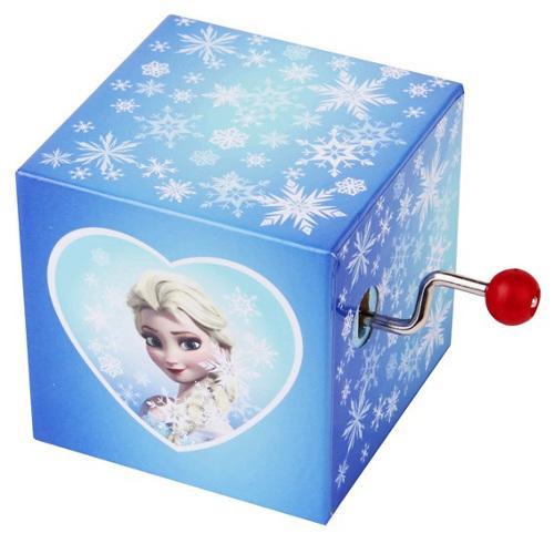 Mini Cutie Muzicala Elsa cu Manivela