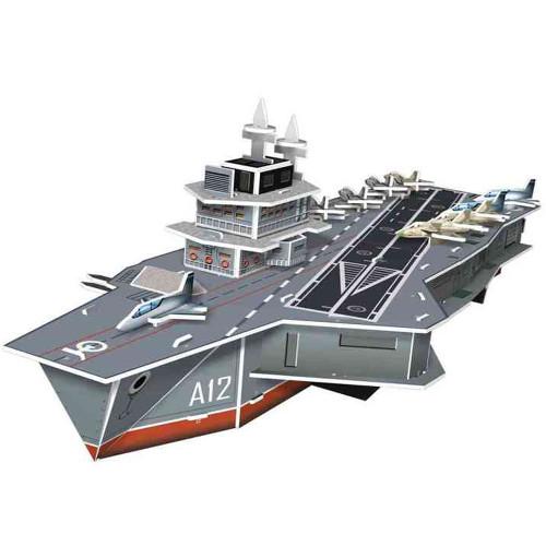 Puzzle 3D Portavionul Charles de Gaulle