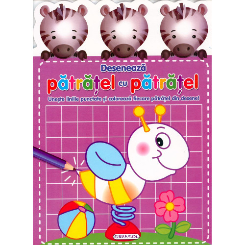 Activitati - Deseneaza Patratel cu Patratel