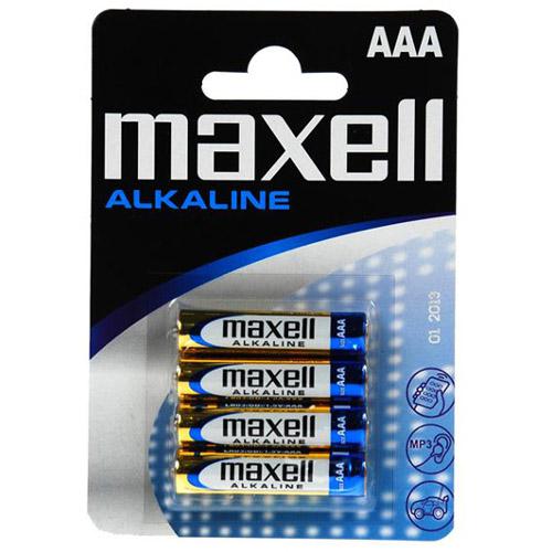 Set 4 Baterii AAA Alkaline