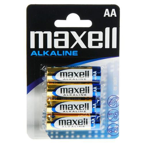 Set 4 Baterii AA Alkaline