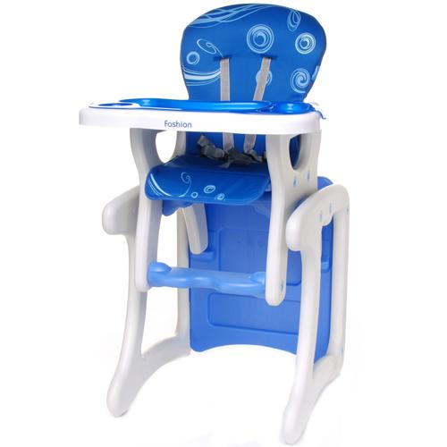Scaun de Masa 2in1 Albastru