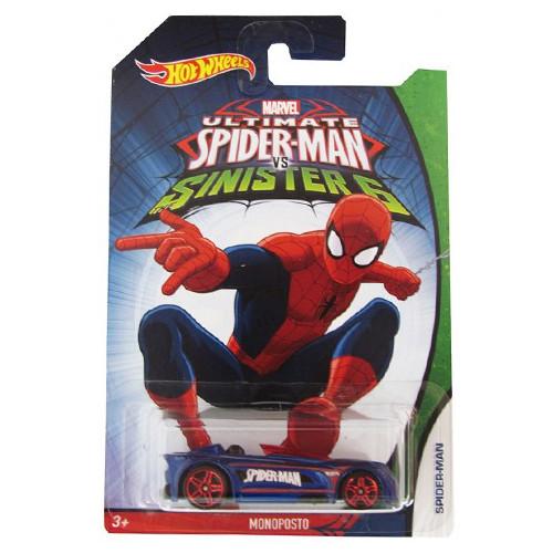 Hot Wheels - Masinuta Monoposto Spider-Man