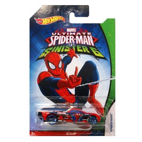 Hot Wheels - Masinuta Bedlam Spider-Man