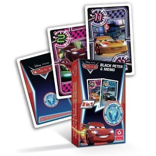 Carti de Joc Memo Disney Cars Neon Racers Cup