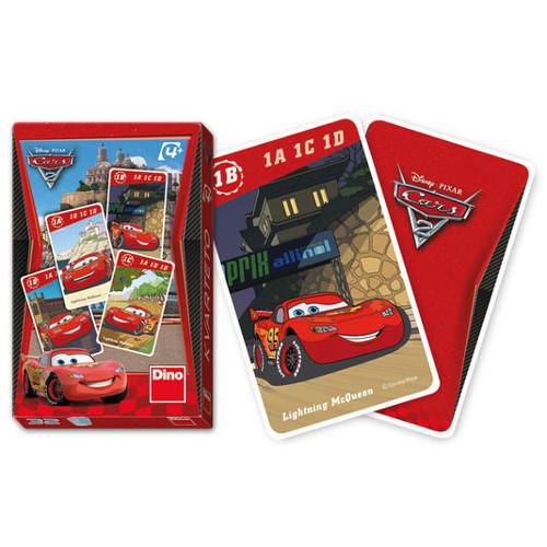 Carti de Joc Quartet Disney Cars