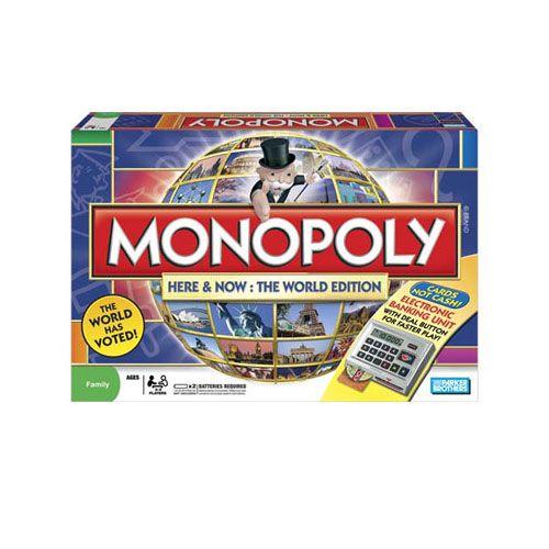Joc Monopoly Electronic Here&Now Editie Globala