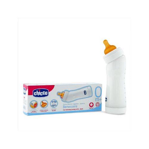 Biberon Plastic in Unghi 250 ml