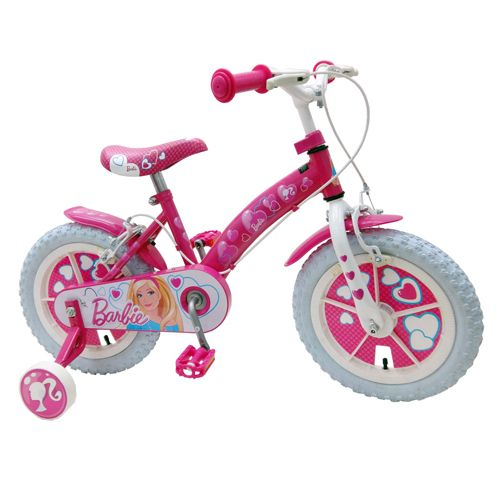 Bicicleta Barbie 14