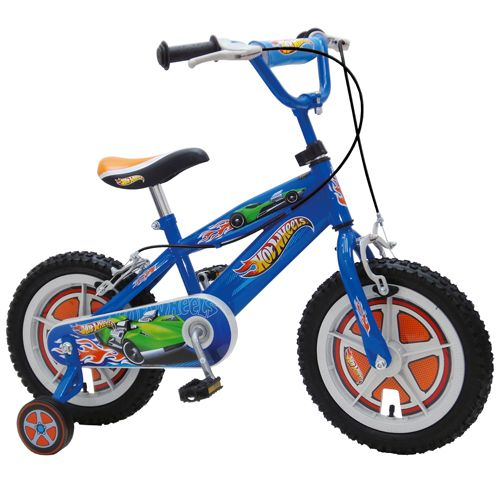 Bicicleta Hot Wheels 14