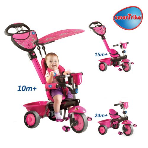 Tricicleta Smart Trike Zoo Butterfly