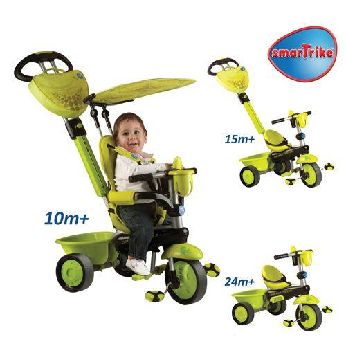 Tricicleta Smart Trike Zoo Frog