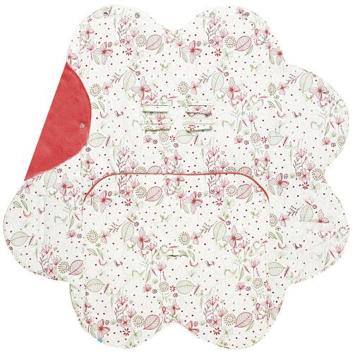 Poza Baby Wrap Leaf Paturica Floare Imprimata