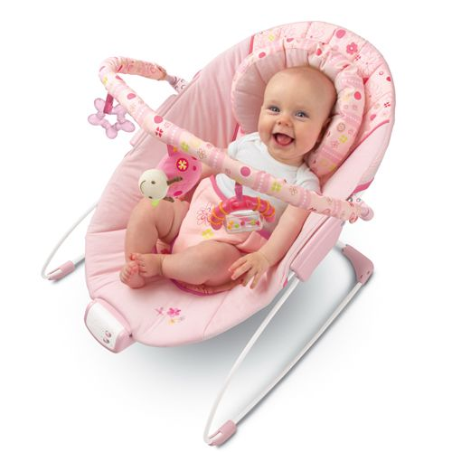 Pretty in Pink Melodies Bouncer