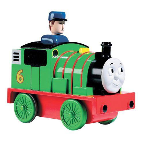 Trenulet Percy Apasa si Merge