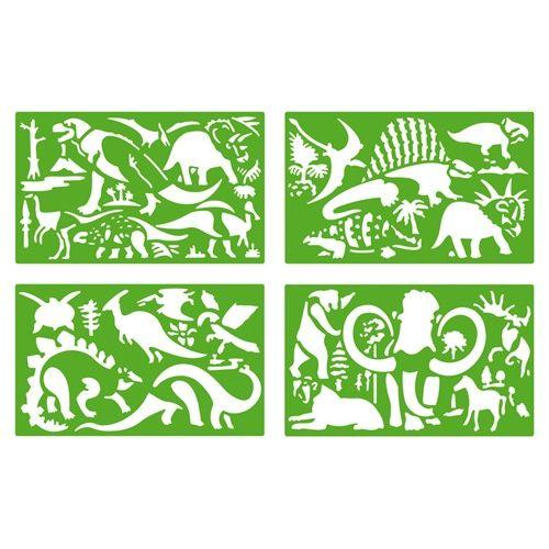 Sabloane cu Dinozauri