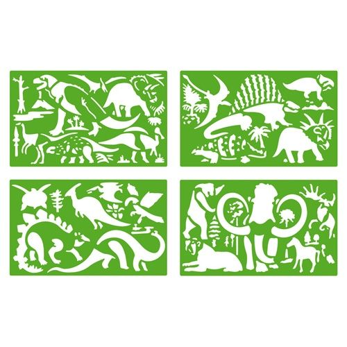 Poza Sabloane cu Dinozauri