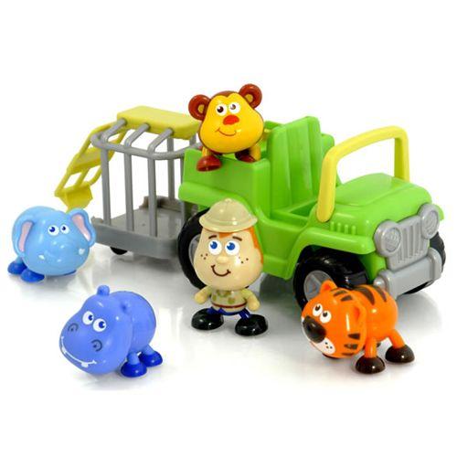 Mini Jeep cu Animalute Salbatice
