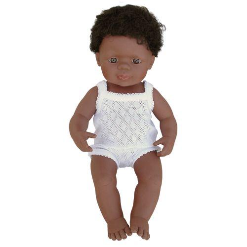 Papusa Baiat Afroamerican 40 cm