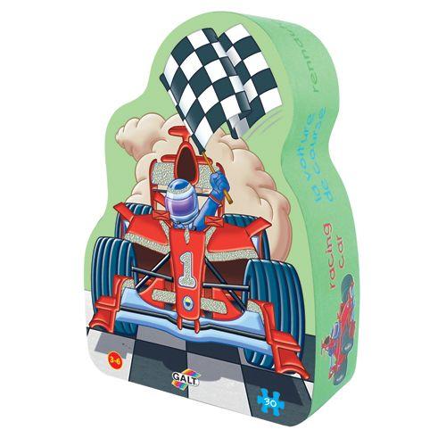 Foil Puzzle Racing Car - Puzzle Stralucitor Masini de Curse