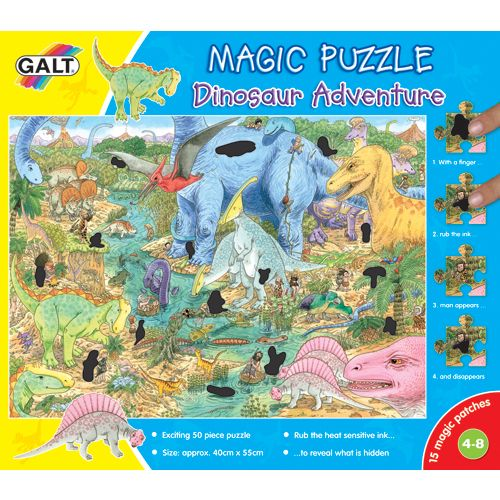 Magic Puzzle - Dinosaur Adventure