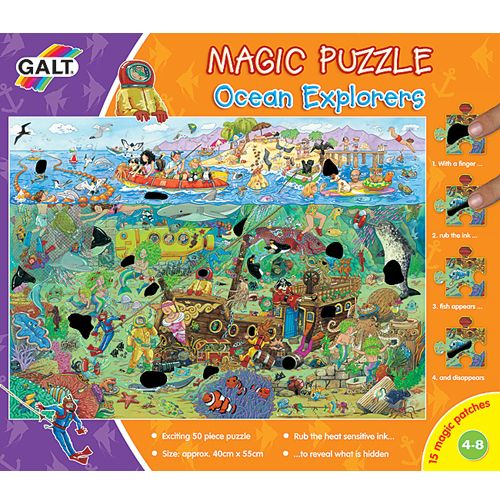 Magic Puzzle - Ocean Explorers