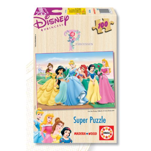 Puzzle 100 Piese Printesele Disney