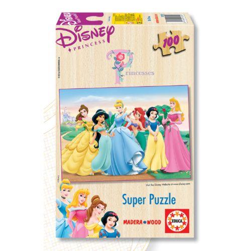Poza Puzzle 100 Piese Printesele Disney