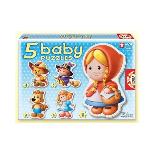 Puzzle Bebe cu Personaje