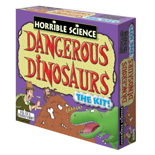 Dangerous Dinosaurs - Kit Experimente - Dinozaurii