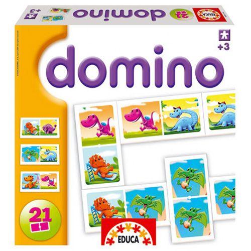 Joc Domino cu Dinozauri