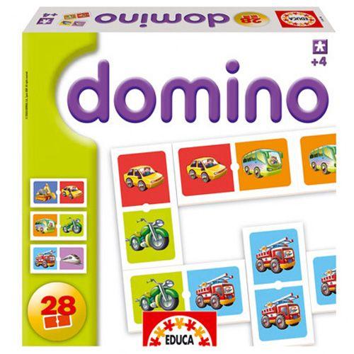 Joc Domino cu Vehicole