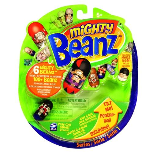 Mighty Beanz 6 Figurine pe Blister