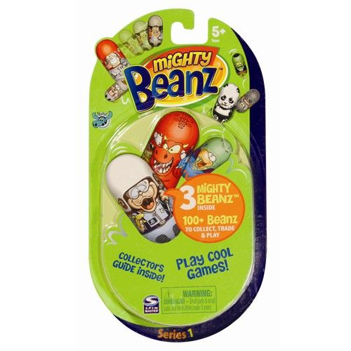 Mighty Beanz 3 Figurine pe Blister