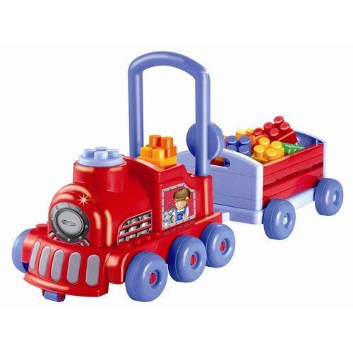 Trenulet cu Vagon si Cuburi