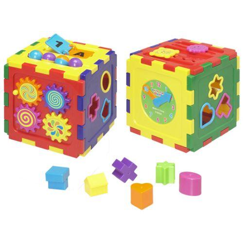Poza Cub Educativ cu Forme Geometrice