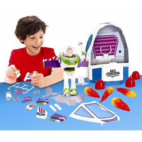 Kit de Constructie Toy Story 3 Buzz Lightyear si Spaceship