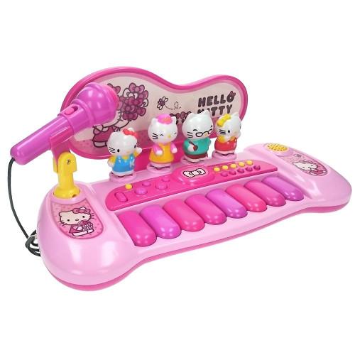 Poza Pian cu Figurine Hello Kitty