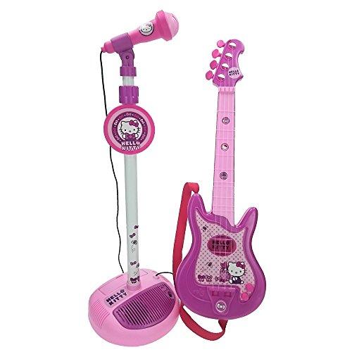 Poza Set Chitara si Microfon Hello Kitty