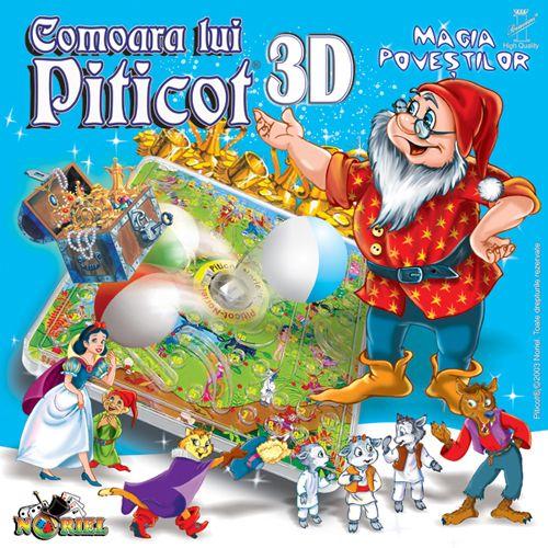 Joc de Familie Comoara lui Piticot 3D